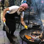 Barbecuing with Fausto Eppinger