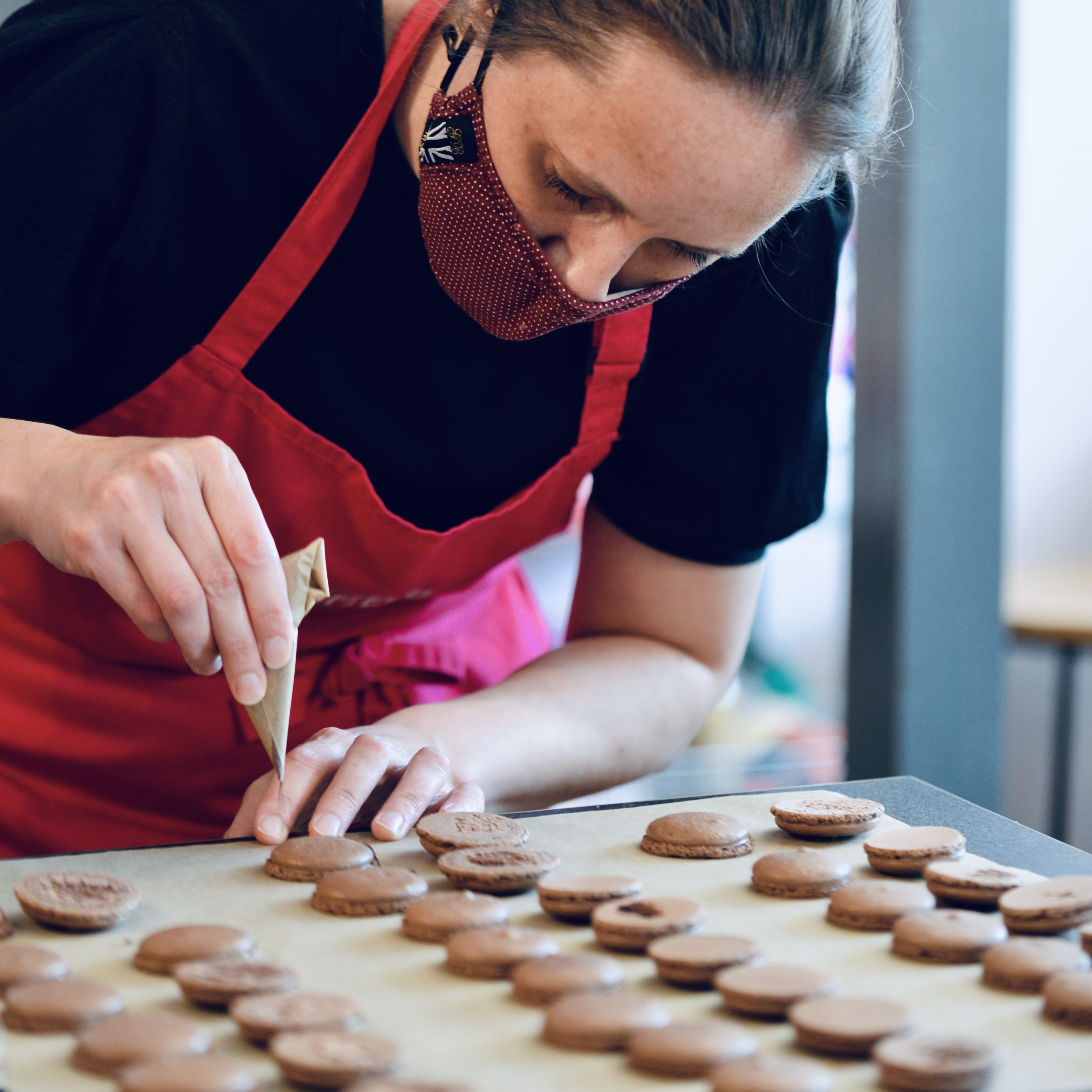Macaron Masterclass with Lucie Bennett (Full Day)